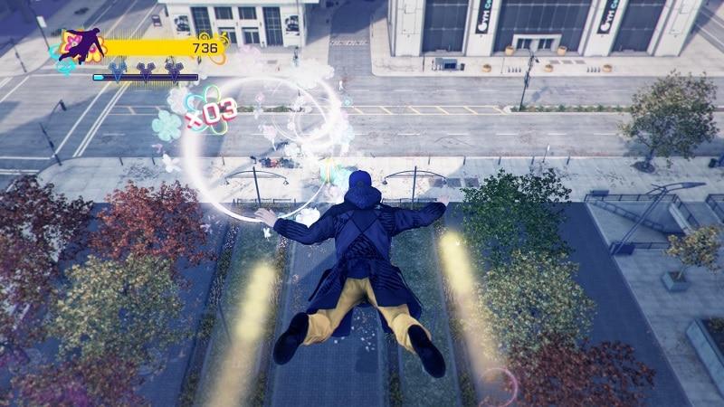 Woo! I'm flying!