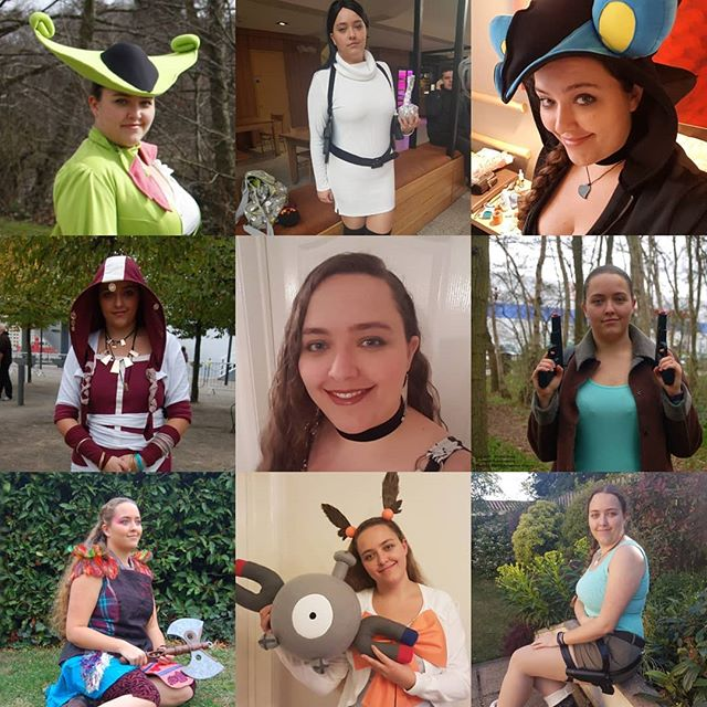 Cosplayer vs Cosplays - A selection of cosplays I have created