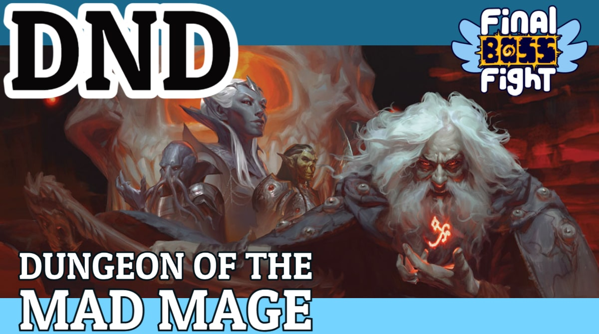 Stream thumbnail for Waterdeep: Dungeon of the Mad Mage